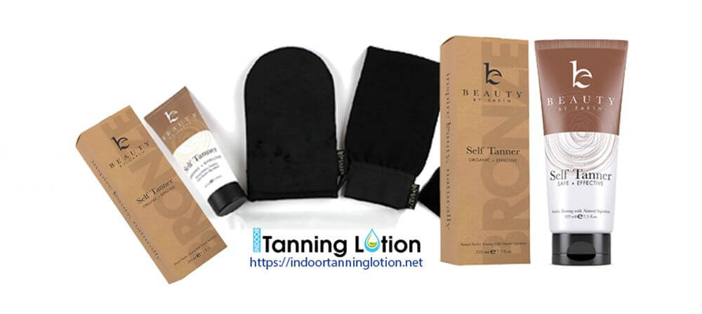 Self Tanner with Organic & Natural Ingredients, Best Tanning Lotion
