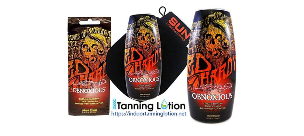 Ed Hardy Obnoxious Extreme Bronzer Tingle Indoor Tanning Lotion